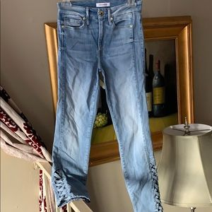 Good American jeans size 24 high rise